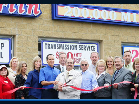Grand opening at Merlin 200,000 Mile Shops Auto Repair Franchise