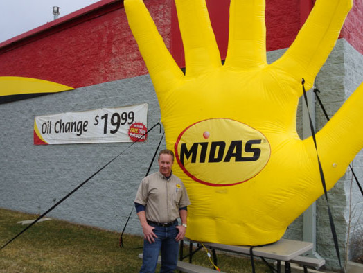 Midas will help you open your own franchise