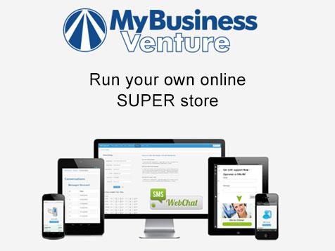My Business Venture - run an online super store