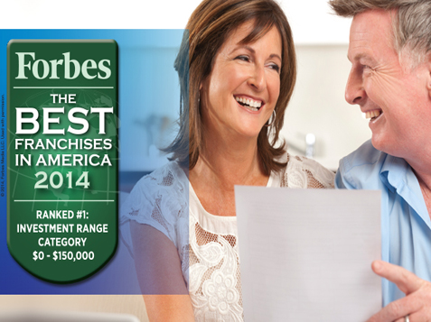 Forbes Best Franchise BrightStar Care