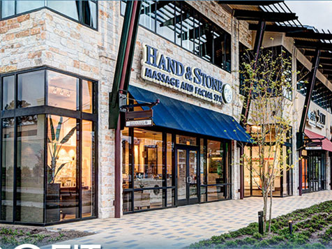 Hand and Stone Massage Spa Franchise Exterior