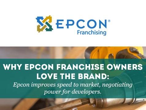 Franchise owners love their brand - Epcon