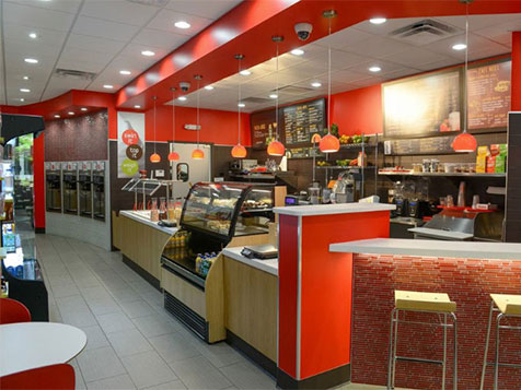 Red Mango Franchise Interior