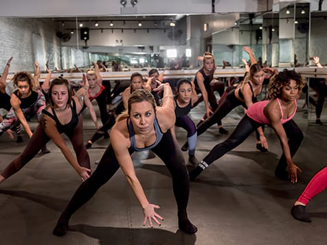 A Barre Code Fitness Franchise Class