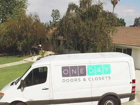 One Day Doors & Closets Vehicle