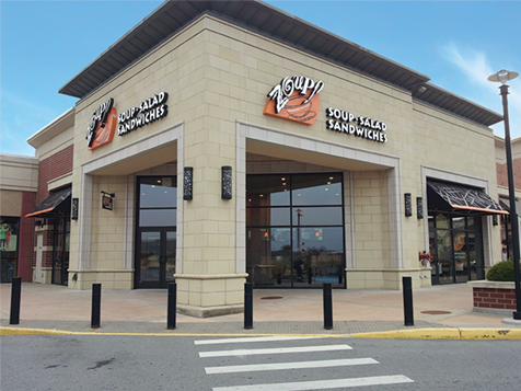 One of 70 Zoup! franchise locations