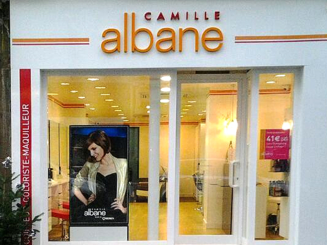 Camille Albane Franchise Store Front
