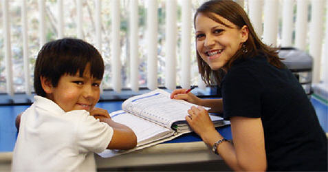 A Tutor from The Tutoring Center Franchise