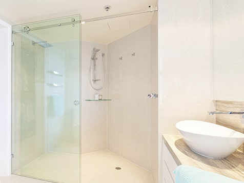 The Original Frameless Shower Doors Bathroom