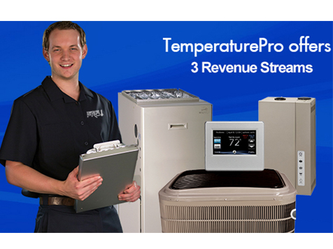 TemperaturePro franchise offers multiple revenue streams
