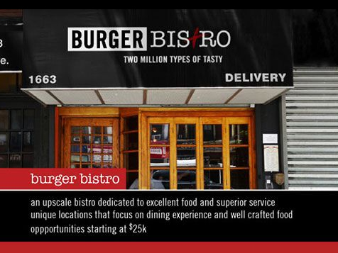 The Burger Bistro Franchise Store Front