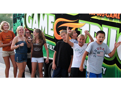 The GameTruck franchise provides hours of entertainment
