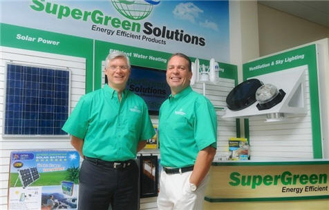 SuperGreen Solutions Franchise Commerical Energy efficient