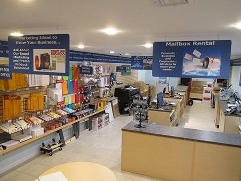 Mailbox, Print and Business Center Developers - Interior