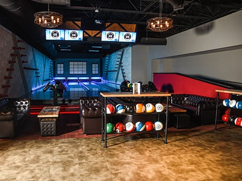 Lanes at an 810 Billiards & Bowling Franchise