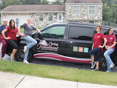 Caring Transitions Franchise Vehicle
