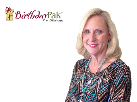 BirthdayPak Franchise Owner Lisa Whittington of OK