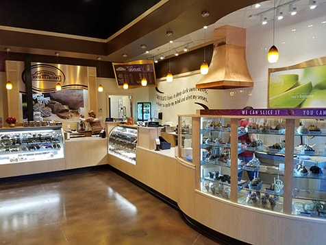 Rocky Mountain Chocolate Factory Franchise Counter