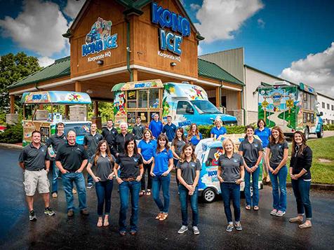 the Kona Ice Franchise team