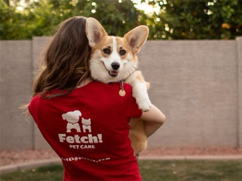 FETCH! Pet Care Franchise - happy customer