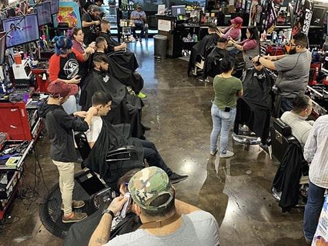 Diesel Barbershop Franchise Haircuts