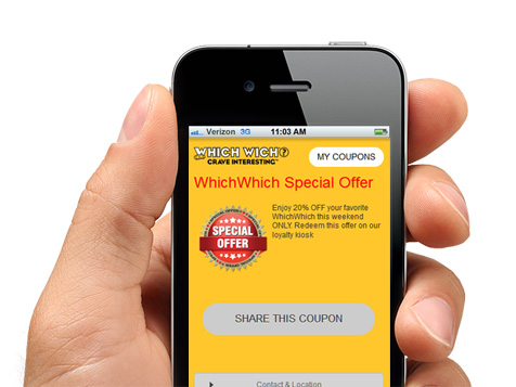IVision Mobile digital coupons