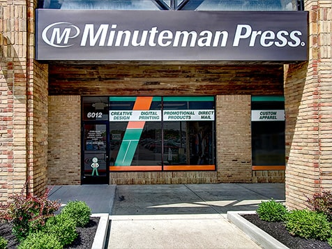 A Minuteman Press Franchise Location