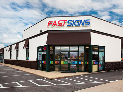 A FASTSIGNS Franchise location