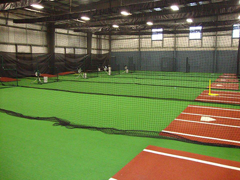 Pitching Practice at Extra Innings Franchise