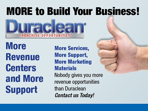 Duraclean Offers More Revenue Centers