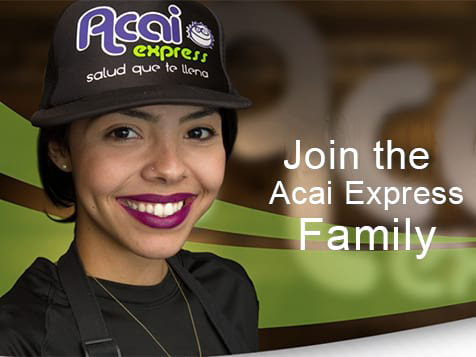 Join the Acai Express Franchise Family