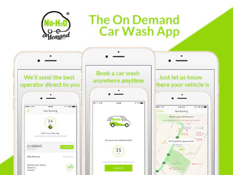 No-H2O On Demand Franchise App