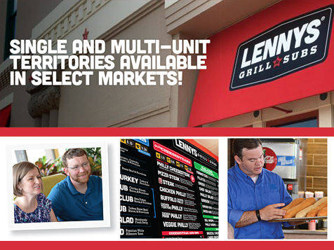 Lennys Grill & Subs Franchise Multi Units Available
