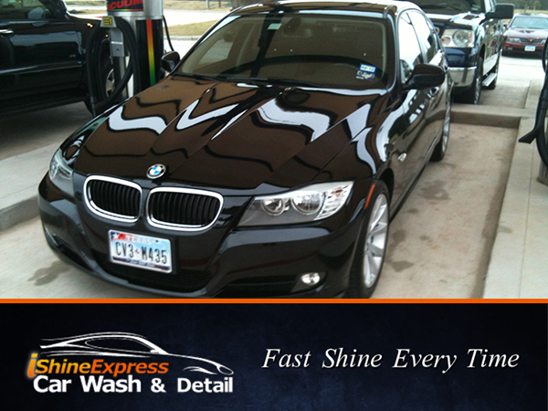 iShine Express Car Wash & Detail provides fast convenient car services