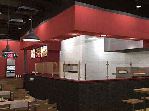 Vocelli Pizza Franchise Layout