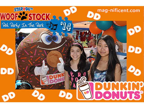 Mag-nificent Photo Magnet - Dunkin
