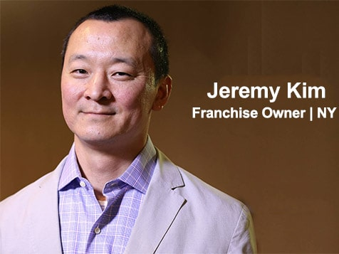 Valenta Franchise Owner, Jeremy Kim