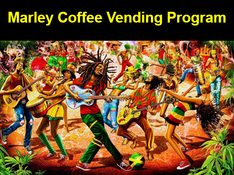 Earn high margins with a Marley Coffee Vending Machine business