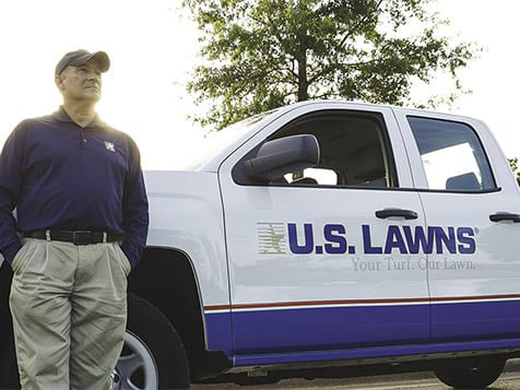 U.S. Lawns Franchise Vehicle