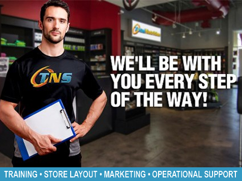 Total Nutrition Superstores® Franchise is here to help you succeed