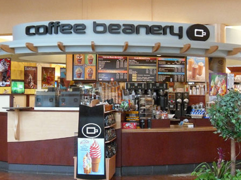 Coffee Beanery in airport