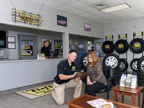 Tuffy Tire & Auto Franchise Lobby