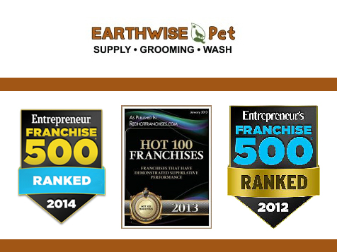 Earthwise Pet Supply Franchise recognitions