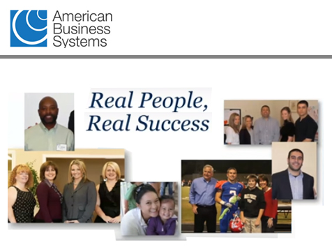 Real people having real success with American Business Systems