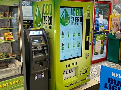 Passive CBD Vending Business - In Store Placement