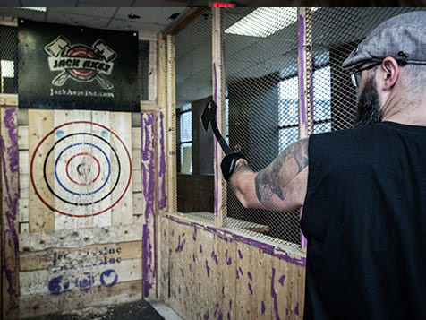 HaliMac Axe Throwing Franchise Thrower
