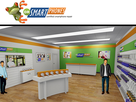 Dr Smart Phones Franchise Inside Location