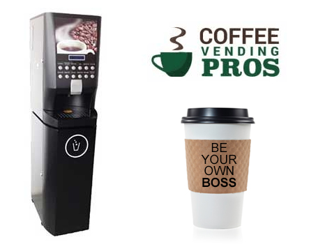 Be your own boss as a Coffee Vending Pros business owner