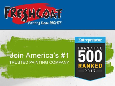 Entrepreneur Ranks Fresh Coat Franchise Among Top 500