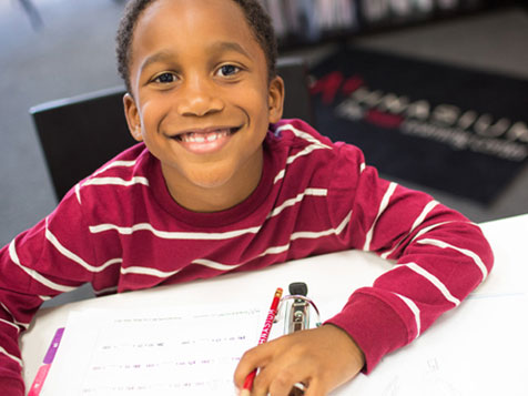 Student at Mathnasium Learning Center Franchise